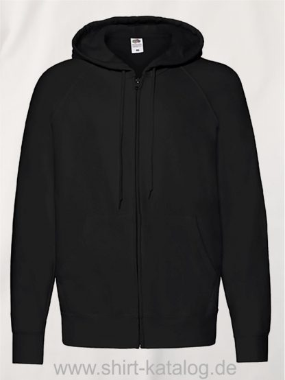 Lightweight-Hooded-Sweat-Jacket-Black