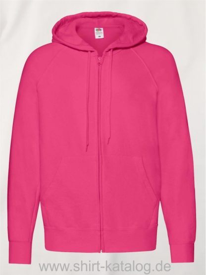 Lightweight-Hooded-Sweat-Jacket-Fuchsia