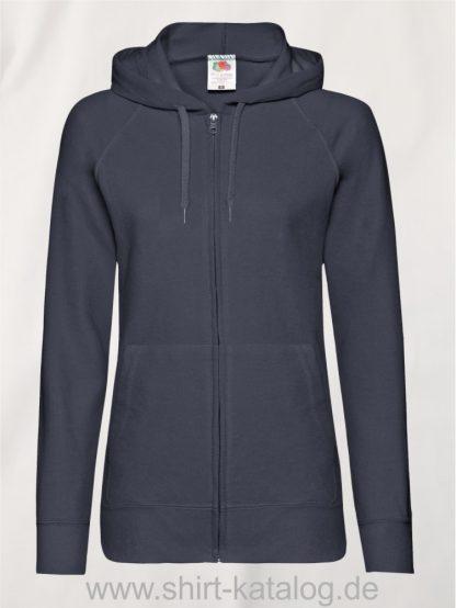 Lightweight-Hooded-Sweat-Jacket-Lady-Fit-Deep-Navy