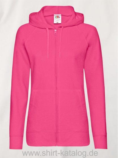 Lightweight-Hooded-Sweat-Jacket-Lady-Fit-Fuchsia