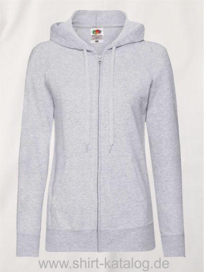 Lightweight-Hooded-Sweat-Jacket-Lady-Fit-Heather-Grey