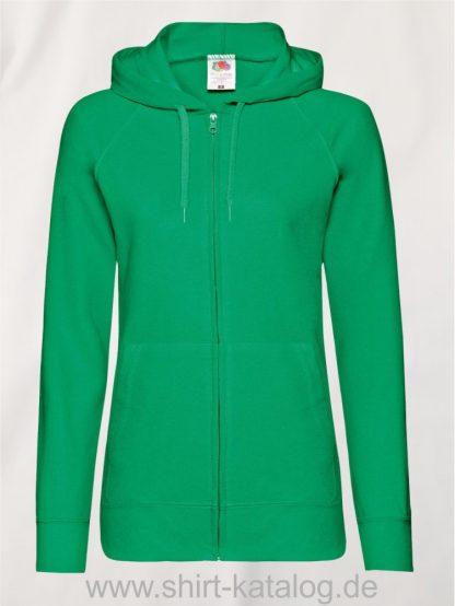 Lightweight-Hooded-Sweat-Jacket-Lady-Fit-Kelly-Green
