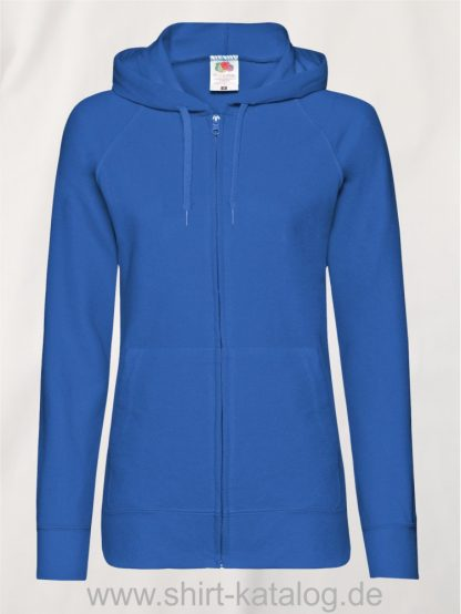Lightweight-Hooded-Sweat-Jacket-Lady-Fit-Royal