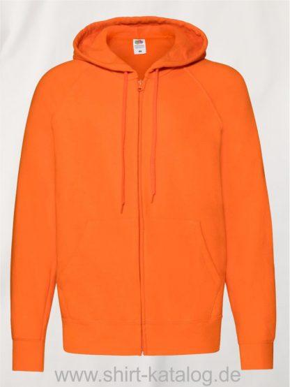 Lightweight-Hooded-Sweat-Jacket-Orange
