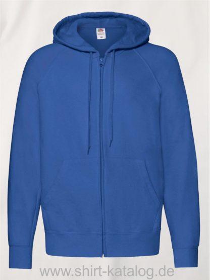 Lightweight-Hooded-Sweat-Jacket-Royal