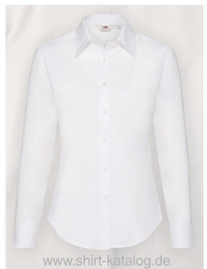Long-Sleeve-Oxford-Shirt-Lady-Fit-White