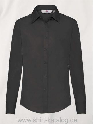 Long-Sleeve-Poplin-Shirt-Lady-Fit-Black