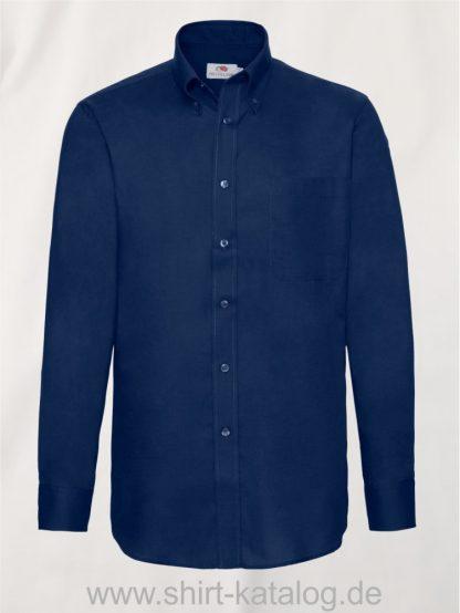 Men´s-Long-Sleeve-Oxford-Shirt-Navy