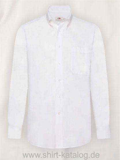 Men´s-Long-Sleeve-Oxford-Shirt-White