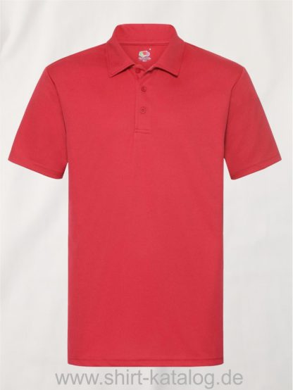Men's-Performance-Polo-Red