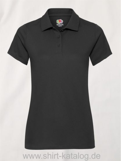Performance-Polo-Lady-Fit-Black