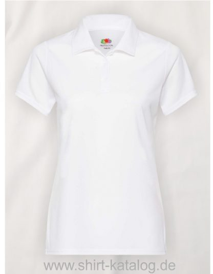 Performance-Polo-Lady-Fit-White