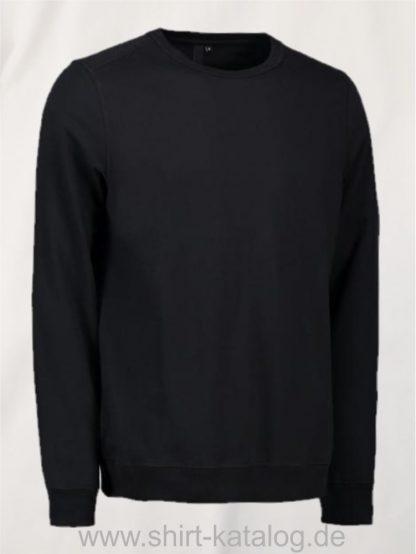 10615-ID-Identity-Core-O-Neck Sweat-0615-Black