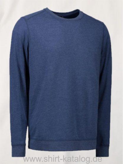 10615-ID-Identity-Core-O-Neck Sweat-0615-Blaumelange