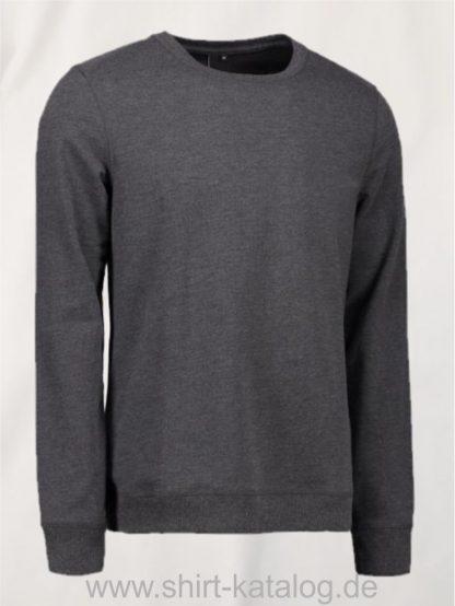 10615-ID-Identity-Core-O-Neck Sweat-0615-Charcoal