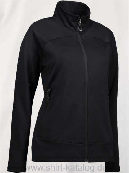 11959-ID-Identity-Damen-Multi-Stretch-Cardigan-0819-Black-Schwarz
