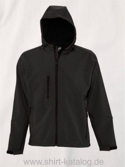 16938-Mens-Hooded-Softshell-Jacket-Replay-black