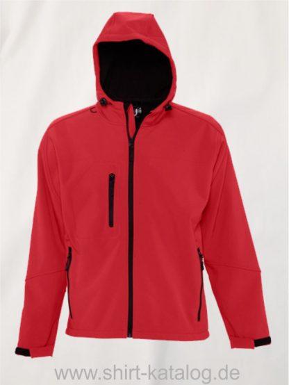 16938-Mens-Hooded-Softshell-Jacket-Replay-red