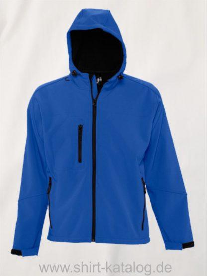 16938-Mens-Hooded-Softshell-Jacket-Replay-royal