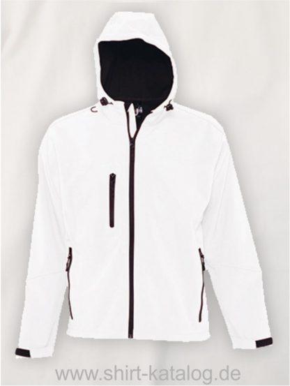 16938-Mens-Hooded-Softshell-Jacket-Replay-white