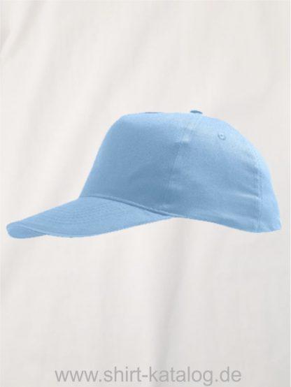 22801-Kids-Cap-Sunny-sky-blue