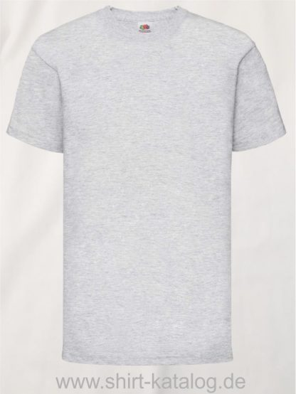 23191-Fruit-Of-The-Loom-Kids-Valueweight-T-F140K-Heather-Grey