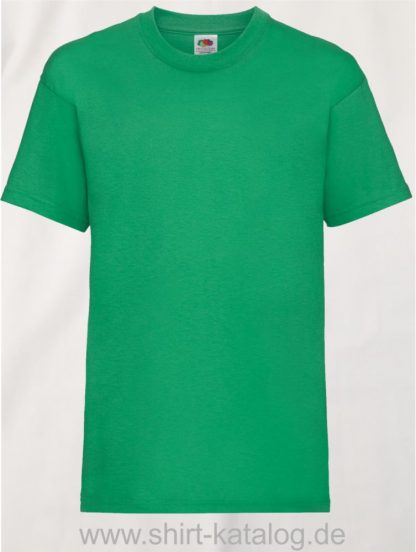 23191-Fruit-Of-The-Loom-Kids-Valueweight-T-F140K-Kelly-Green