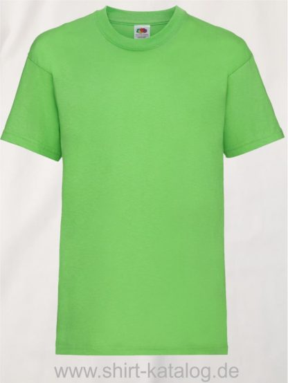 23191-Fruit-Of-The-Loom-Kids-Valueweight-T-F140K-Lime