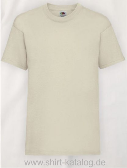 23191-Fruit-Of-The-Loom-Kids-Valueweight-T-F140K-Natural