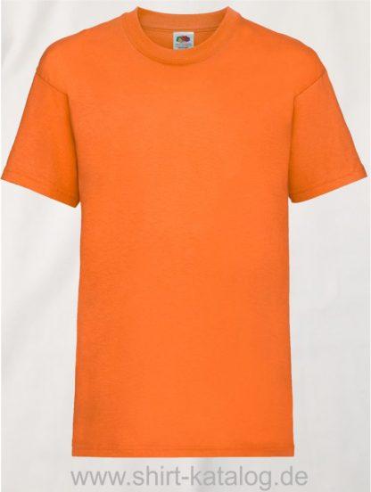 23191-Fruit-Of-The-Loom-Kids-Valueweight-T-F140K-Orange