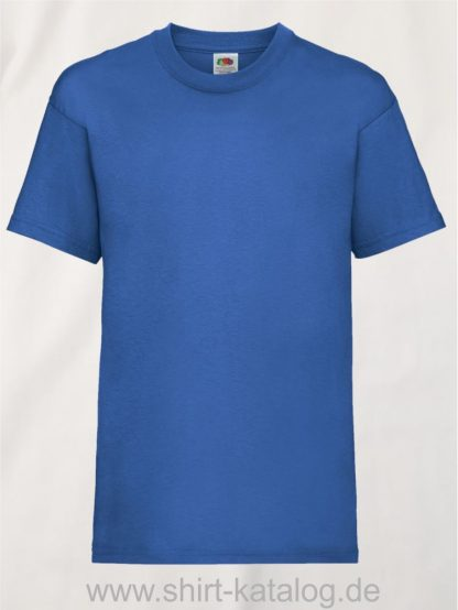 23191-Fruit-Of-The-Loom-Kids-Valueweight-T-F140K-Royal