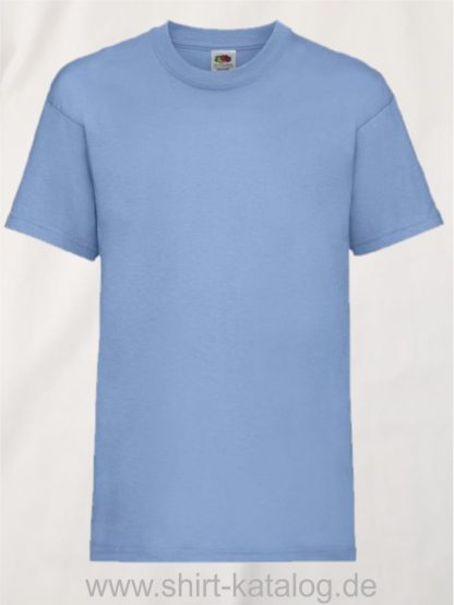 23191-Fruit-Of-The-Loom-Kids-Valueweight-T-F140K-Sky-Blue