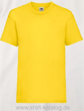 23191-Fruit-Of-The-Loom-Kids-Valueweight-T-F140K-Yellow