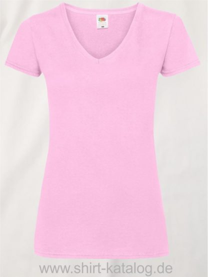 23265-Fruit-Of-The-Loom-Valueweight-V-Neck-T-Lady-Fit-Light-Pink