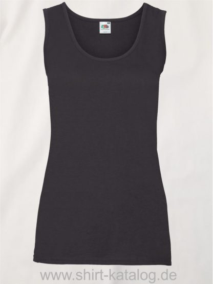 23267-Fruit-of-the-Loom-Valueweight-Vest-Lady-Fit-Black