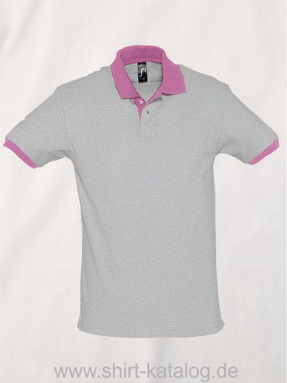 23315-Sols-Polo-Prince-grey-melange-orchid-pink