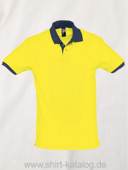 23315-Sols-Polo-Prince-lemon-french-navy