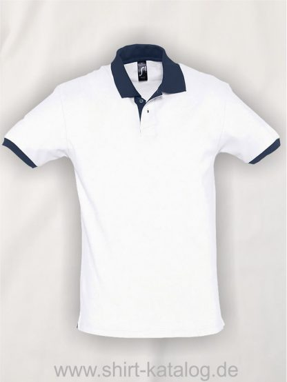 23315-Sols-Polo-Prince-white-french-navy