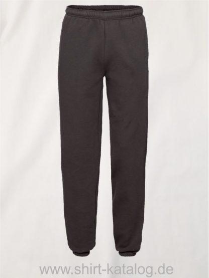 23336-Fruit-of-the-Loom-Premium-Elasticated-Cuff-Jog-Pants-Black