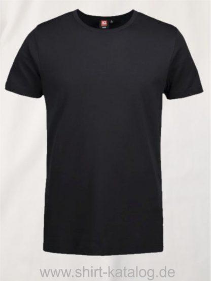 24576-ID-Identity-1x1-geripptes-herren-t-shirt-0538-schwarz