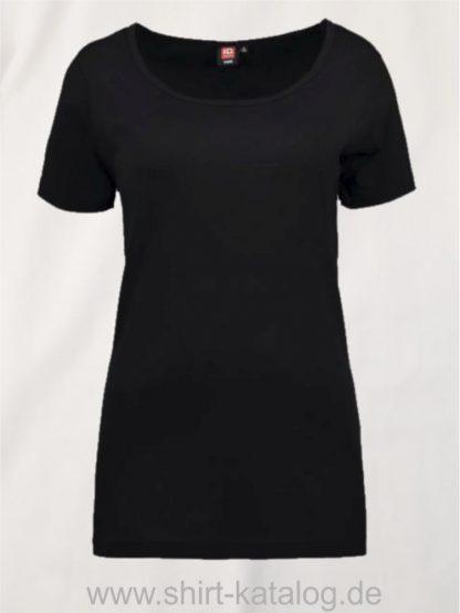 24577-ID-Identity-1x1-geripptes-damen-t-shirt-0539-schwarz