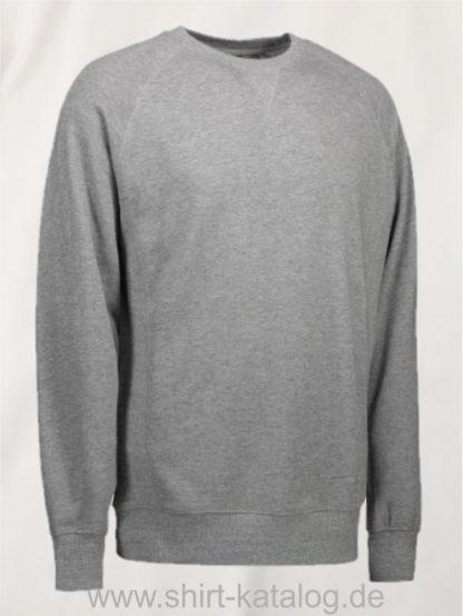 24701-ID-Identity-Exklusives Herren-Sweatshirt-0613-Graumeliert