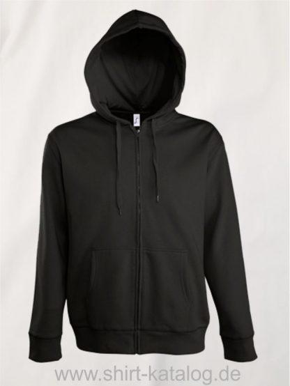 25846-Men-Hooded-Zip-Jacket-Seven-black