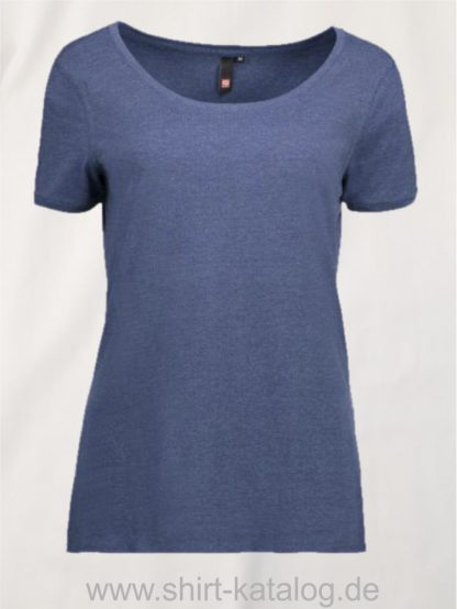25933-ID-Identity-core-o-neck-tee-damen-0541-blau-melange