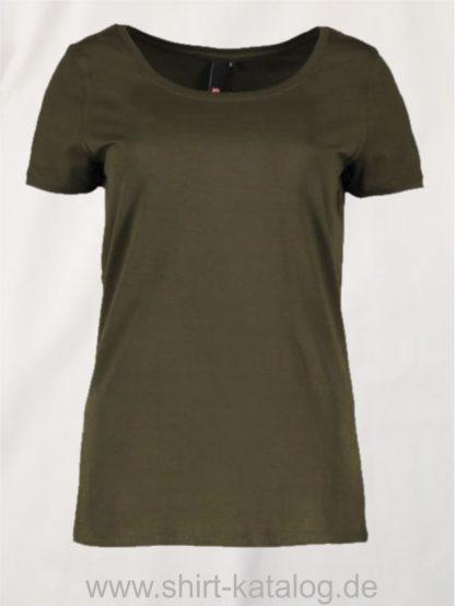 25933-ID-Identity-core-o-neck-tee-damen-0541-classic-olive
