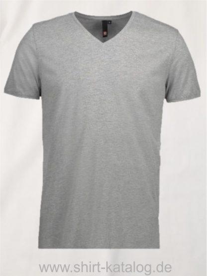 25934-ID-Identity-core-v-neck-tee-0542-grey-melange