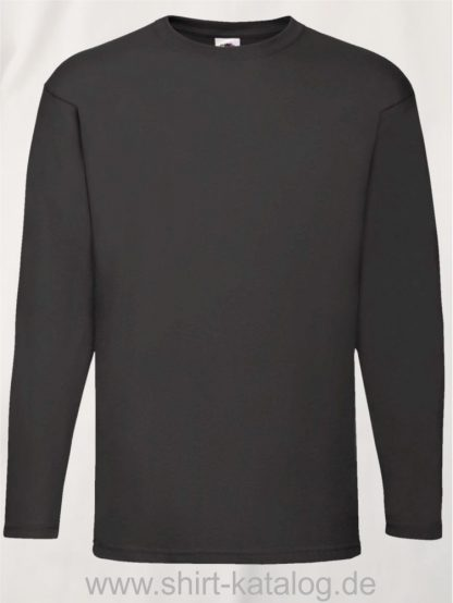 26027-Fruit-Of-The-Loom-Valueweight-T-Black