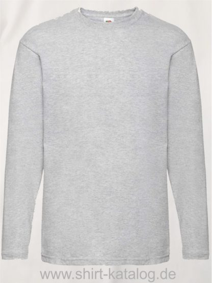 26027-Fruit-Of-The-Loom-Valueweight-T-Heather-Grey