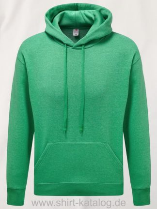 26040-fruit-of-the-loom-premium-hooded-heather-green
