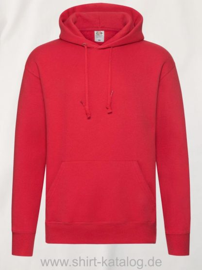 26040-fruit-of-the-loom-premium-hooded-sweat-red